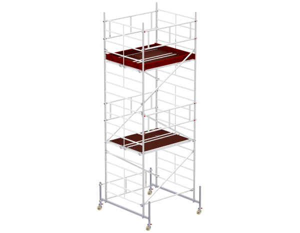 Mobile scaffold tower type 6205 basic unit