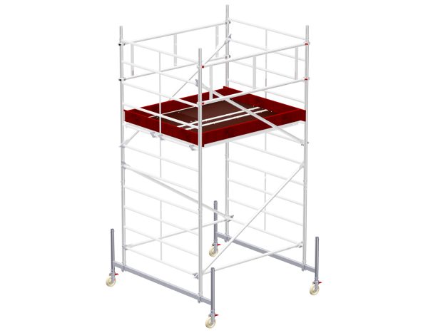 Mobile scaffold tower type 6203 basic unit