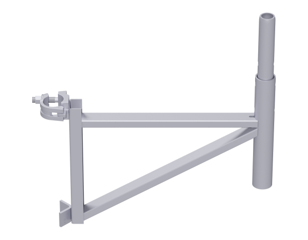 ALFIX bracket 0.50 m, steel, galvanised, WS 19, for extending or shortening