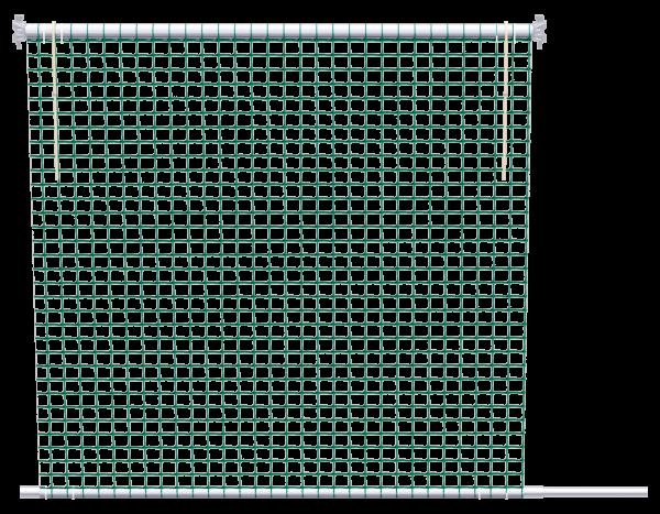 ALFIX MODUL METRIC Netzschutzwand 2,00 m, MW 100 mm, grün