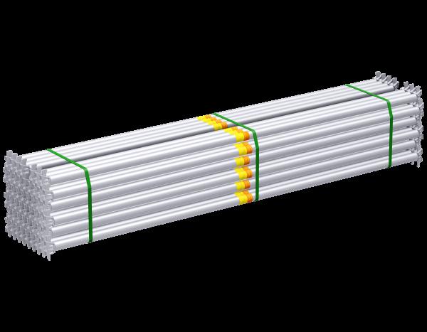Paket ALFIX MODUL MULTI Rohrriegel aus Stahl 2,57 m, vz, 50 Stück