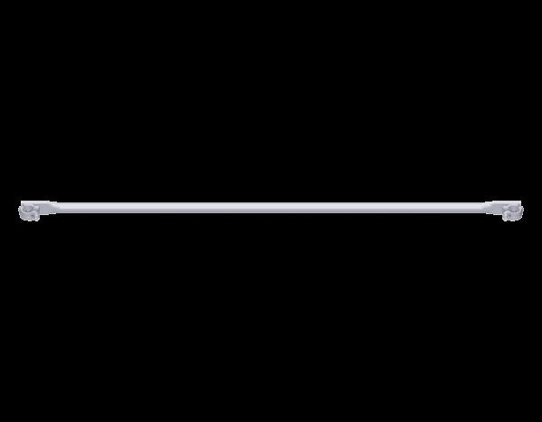 ALFIX Horizontalstrebe aus Stahl mit drehbaren 2 Halbkupplungen, vz