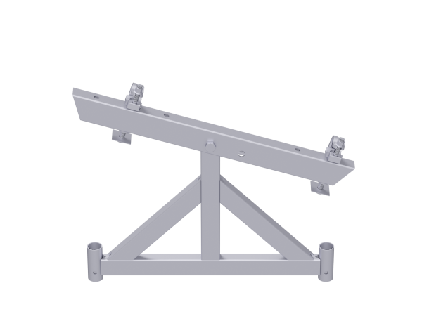 VARIO girder support, pin-jointed, steel