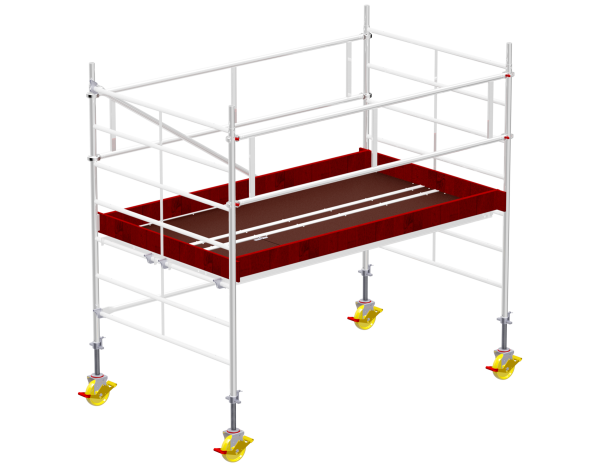 Mobile scaffold tower type 6002 basic unit