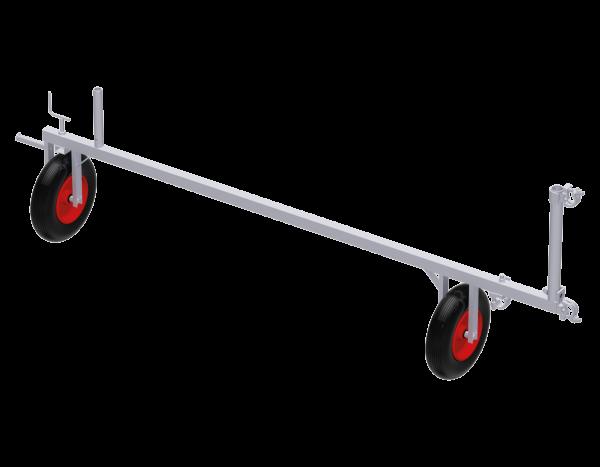 Fahrbalken mobil aus Stahl 2,50 m, vz·