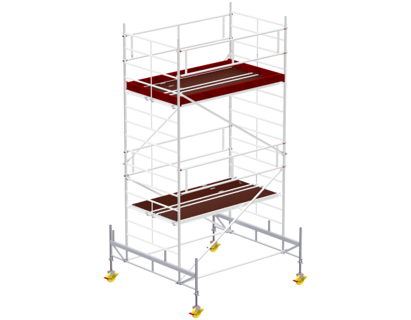 Mobile scaffold tower type 6004 basic unit