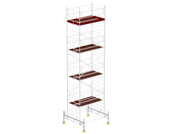 Mobile scaffold tower type 6009 basic unit
