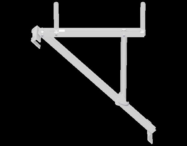 UNIFIX Dachständer aus Aluminium 0,74 m inkl. 1 Fallstecker Spezial