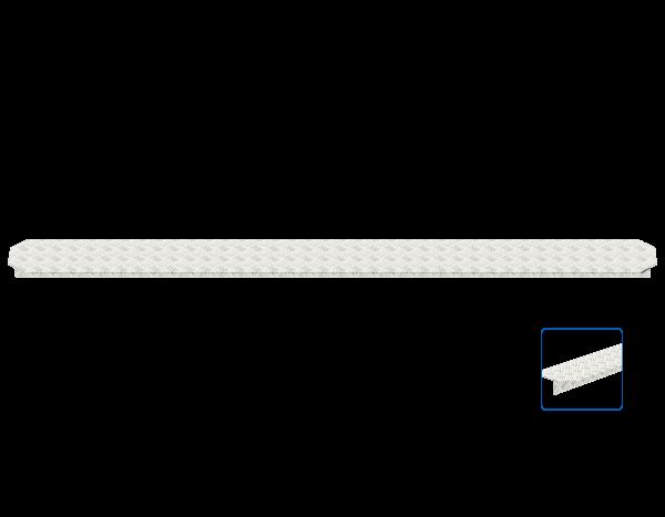 ALFIX MODUL MULTI gap cover 0.19 m, aluminium, T-profile
