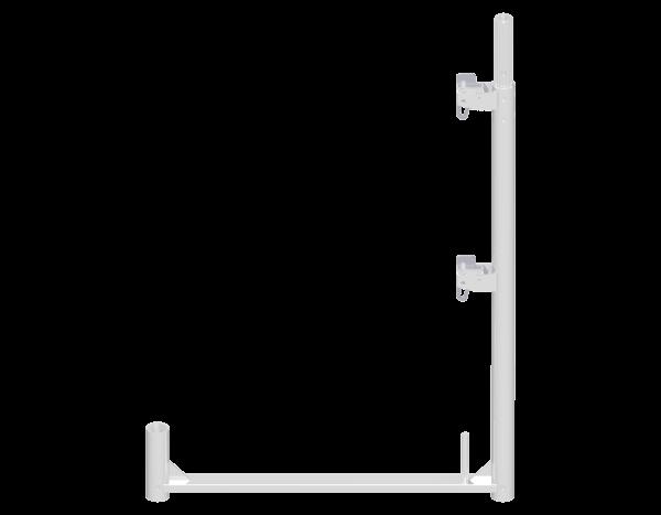 ALFIX Geländerstütze aus Aluminium 1,00 x 0,73 m