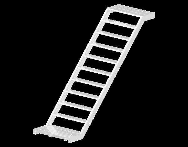 ALBLITZ Treppe aus Aluminium 0,94 m