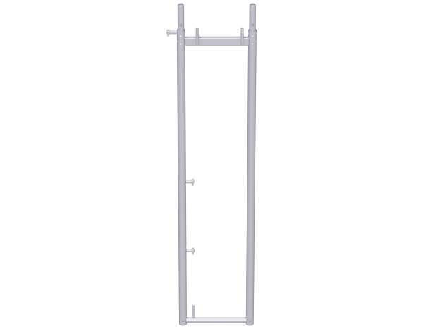 UNIFIX assembly frame 2.00 x 0.41 m, steel, lightweight, galvanised