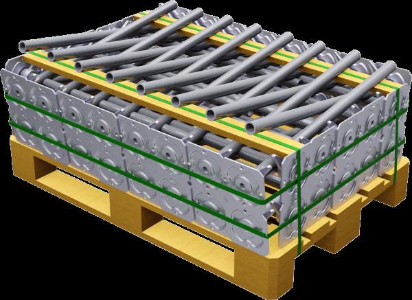 Paket ALBLITZ Gewindefußplatte 0,80 m, VPE 50 Stk
