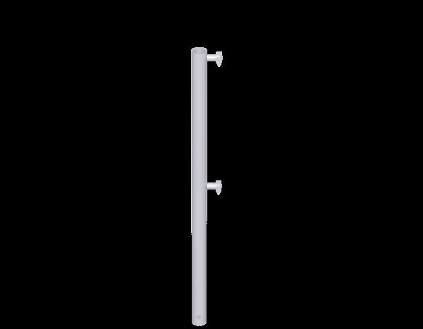 UNIFIX guardrail post 1.00 m, single, steel, galvanised