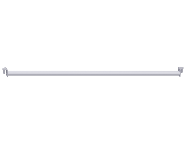ALFIX MODUL METRIC Horizontaldiagonale aus Stahl für Feldlänge 2,50 m, vz