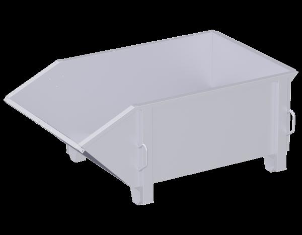 Multipurpose container, steel 1.66 x 1.00 x 0.60 m, 0.85 m³, galvanised