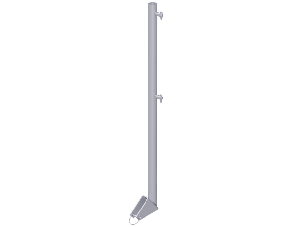 UNIFIX Treppen-Geländerpfosten aus Stahl 1,10 m, vz