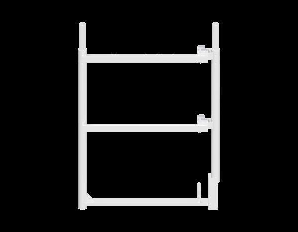 ALFIX end guardrail frame 1.00 x 0.73 m, aluminium