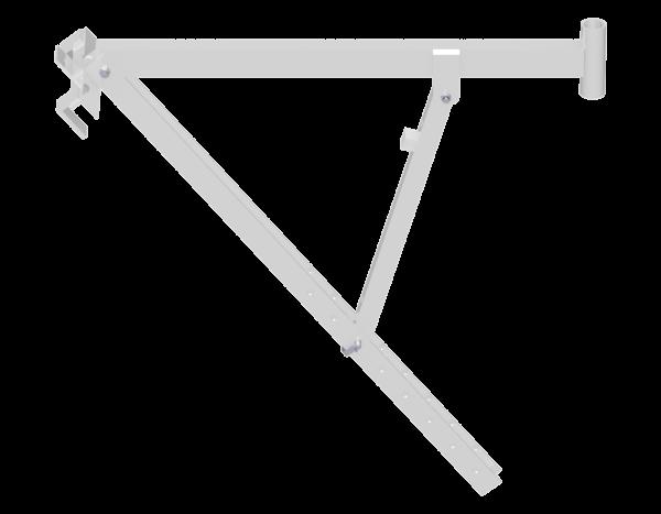 Dachbock aus Aluminium 1,00 m