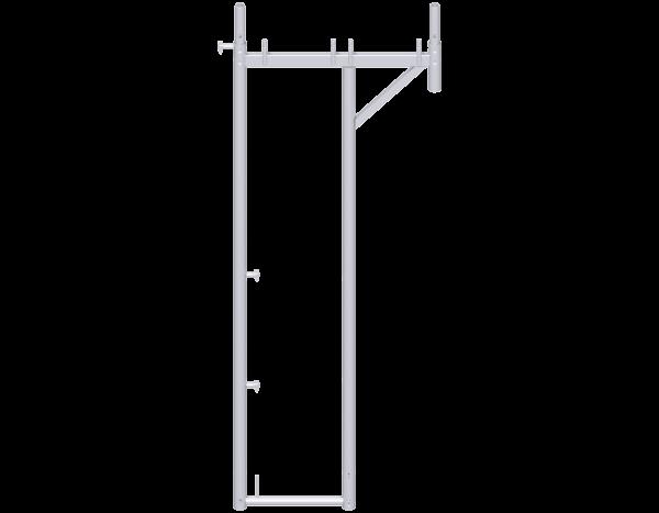 UNIFIX transition frame 2.00 x 0.41 m - 0.74 m, steel
