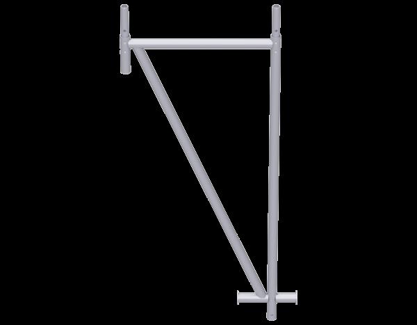 VARIO Dreieckstütze aus Stahl für fahrbare Halle, vz