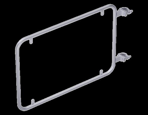 Werbetafelrahmen aus Stahl 1,00 x 0,70 m, vz