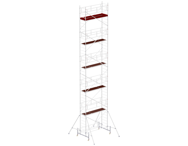 Mobile scaffold tower type 5112 basic unit