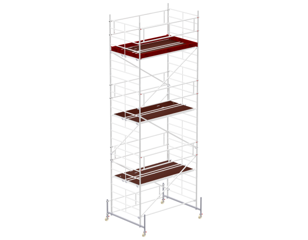 Mobile scaffold tower type 6107 basic unit