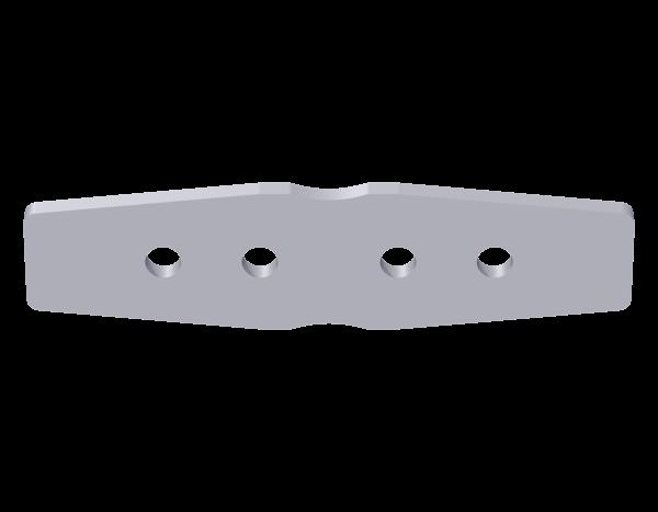 VARIO Keder profile connector, steel, galvanised