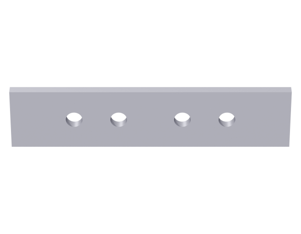 VARIO Kederprofilverbinder aus Stahl, vz