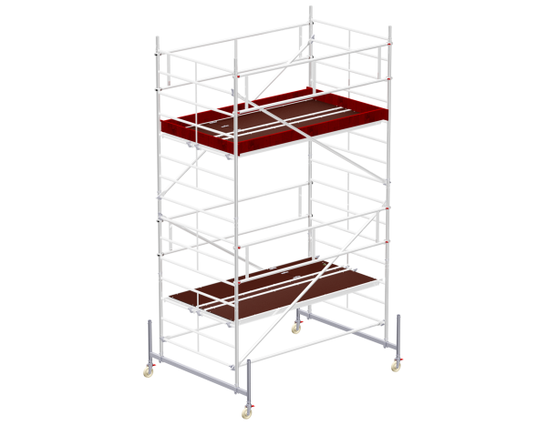 Mobile scaffold tower type 6104 basic unit