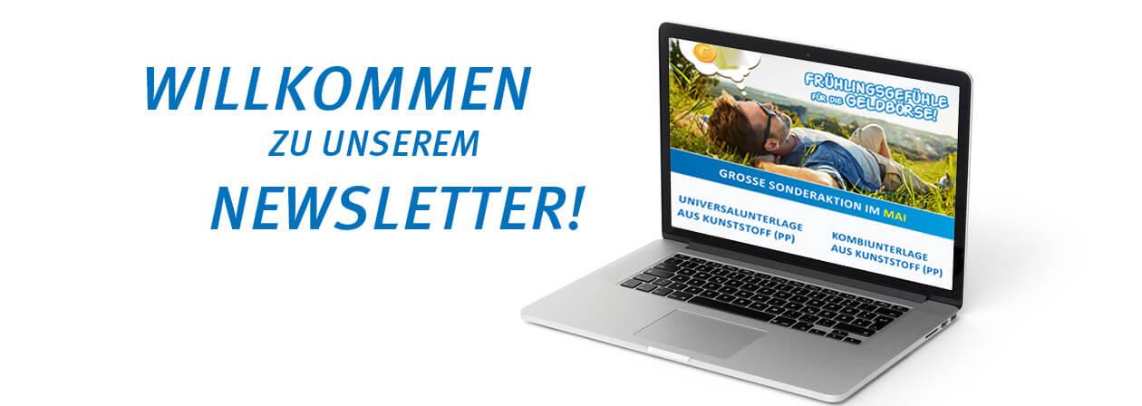 Willkommen zu unserem Newsletter